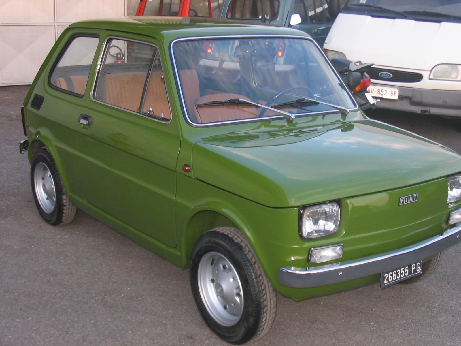 La Fiat 126 è un'automobile prodotta dalla FIAT dal 1972 al 2000. La  commercializzazione in Europa Occidentaleterminò nel 1991, proseguendo la  vendita sul ...