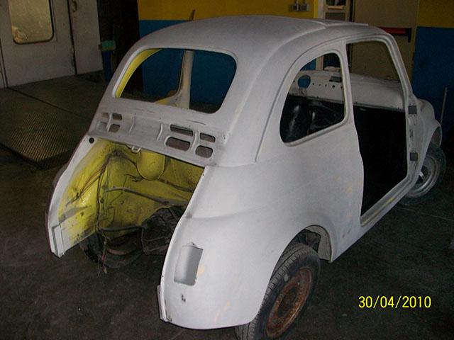Restauro Fiat 500 F 1966 - 873ac007b80c