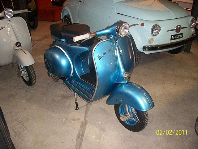 migliore vendita nuova versione ultima moda Restauro Piaggio Vespa 150 1961 -