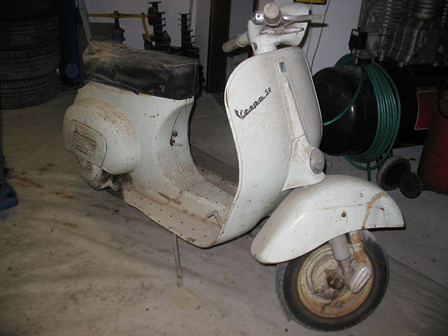 sito web per lo sconto bambino designer nuovo e usato Restauro Piaggio Vespa 50 N 1964 -