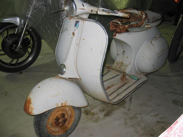 vendita scontata gamma esclusiva consegna gratuita Restauro Piaggio Vespa 125 1958 -